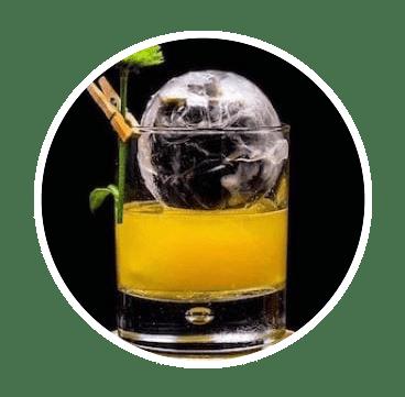 Slow Melting Sphere Ice for Denver Bars
